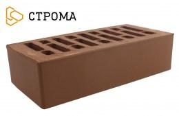 Кирпич облицовочный Брянский коричневый, Гладкий 1НФ