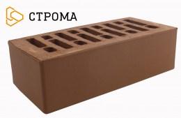 Кирпич облицовочный Брянский коричневый, Гладкий 1,4НФ