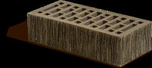 Кирпич облицовочный Маркинский Британия коричневый, Тростник 1НФ