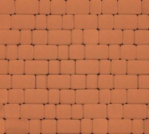 Тротуарная плитка 40мм гладкая, оранжевая, Инсбрук Альт
