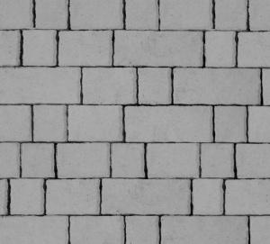 Тротуарная плитка 60мм гладкая, серая, Старый город