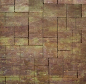 Тротуарная плитка 60мм гладкая, порто, Новый город