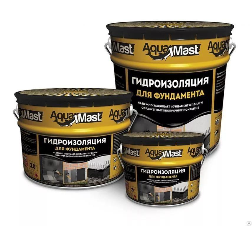 Гидроизоляция AquaMast  3кг