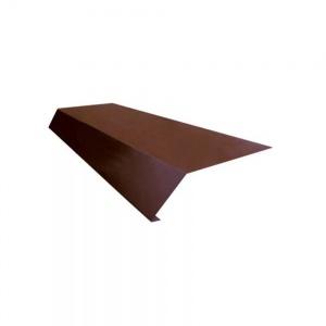 Карнизная планка 100*50  2м  0,5мм Пластизол