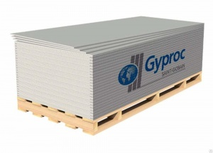 ГКЛ Gyproc 1200*2500*12.5мм