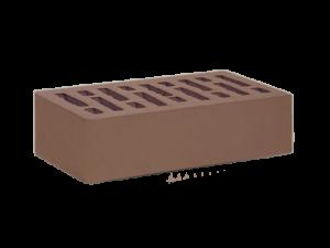 Кирпич облицовочный Старооскольский коричневый, Гладкий 1НФ