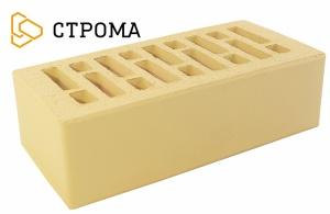Кирпич облицовочный Брянский солома, Гладкий 1,4НФ