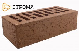 Кирпич облицовочный Брянский коричневый, Кора дуба 1,4НФ