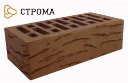 Кирпич облицовочный Брянский коричневый, Мадейра 1,4НФ