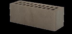 Кирпич облицовочный Тербунский Гончар коричневый, Гладкий 0,96НФ