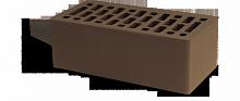 Кирпич облицовочный Маркинский Британия коричневый, Гладкий 1,4НФ