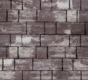 Тротуарная плитка 60мм гладкая, браун, Старый город