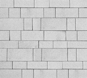Тротуарная плитка 60мм гладкая, белый, Инсбрук Тироль