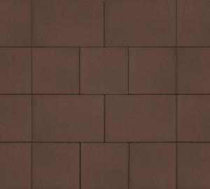 Тротуарная плитка 60мм гладкая, коричневый, Инсбрук Ланс