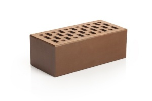 Кирпич облицовочный Магма Шоколад, Гладкий 1,4НФ