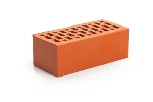 Кирпич облицовочный Магма Красный, Гладкий 1,4НФ