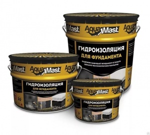 Гидроизоляция AquaMast для фундамента  3кг