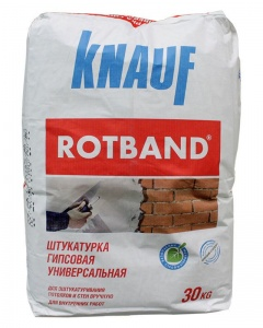 Штукатурка гипсовая Knauf Ротбанд 30кг