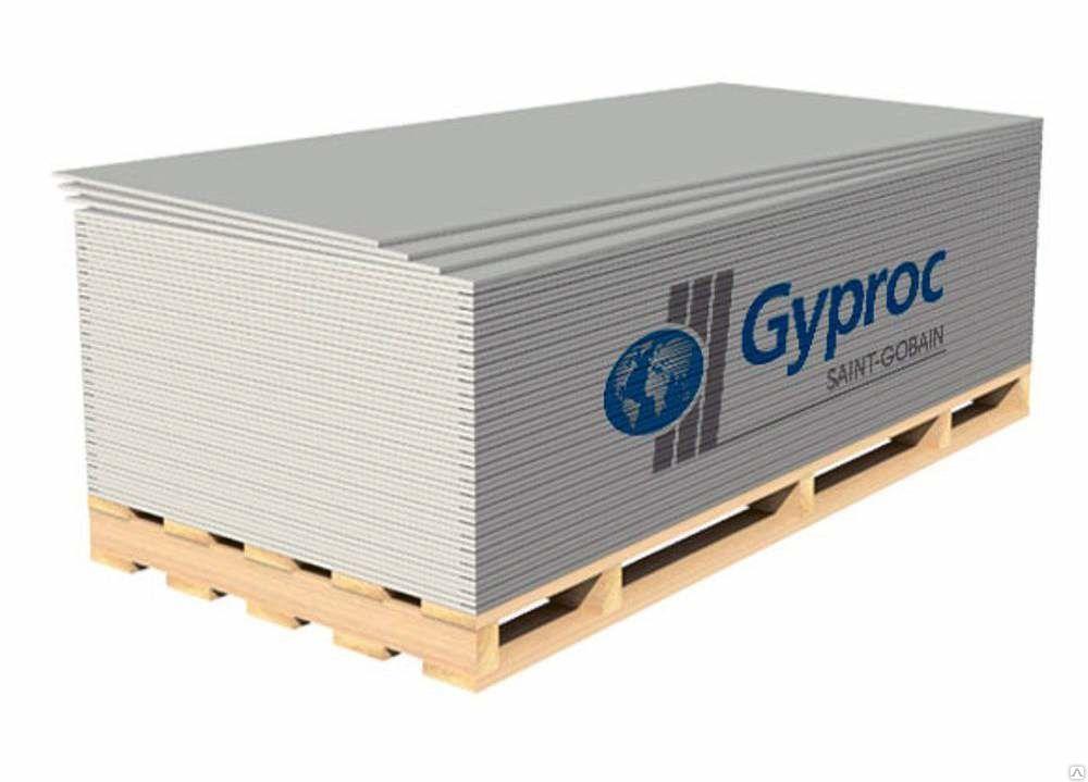 ГКЛ Gyproc 12.5мм