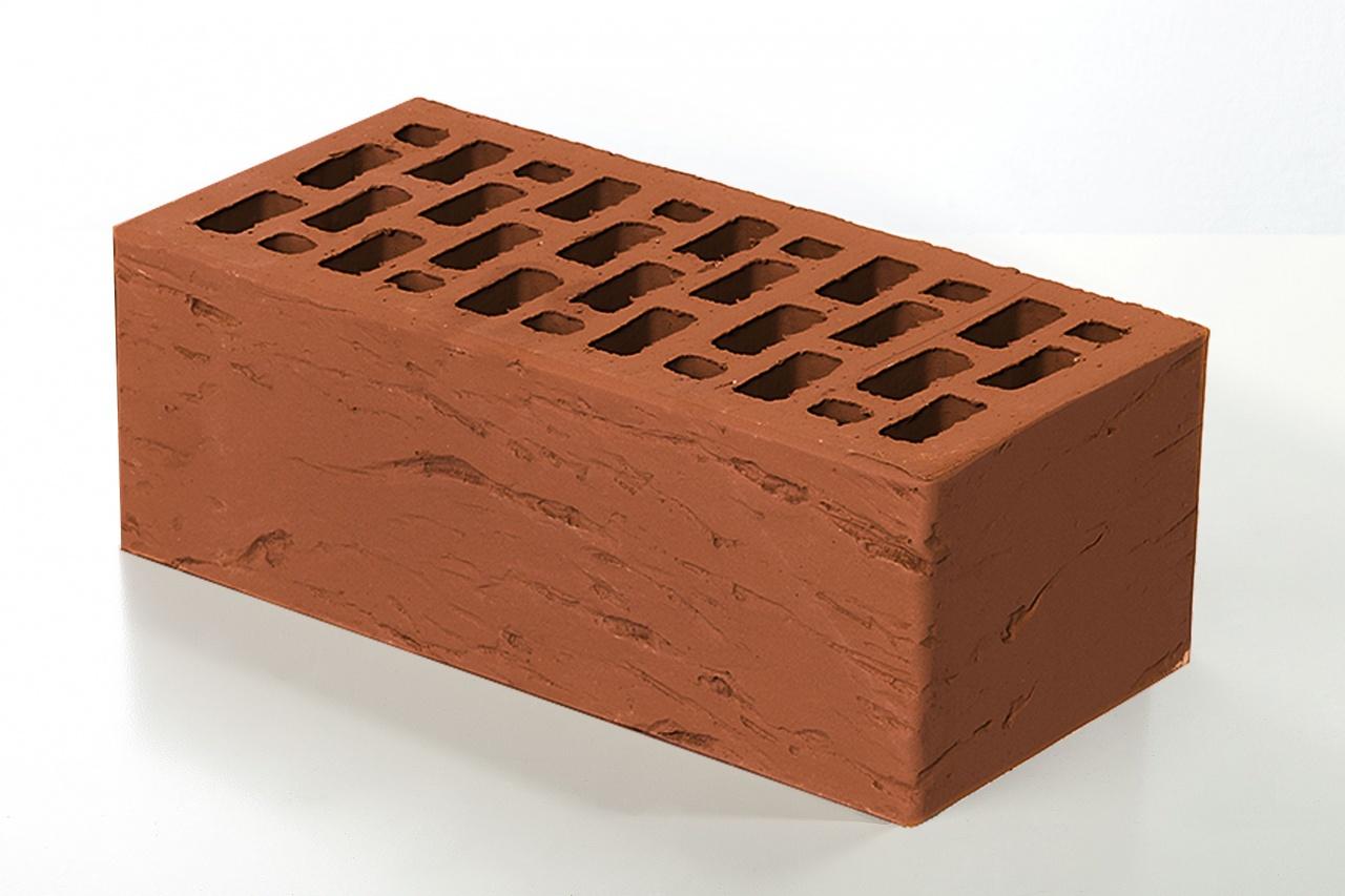 Кирпич облицовочный Braer Красный, Риф 1,4НФ