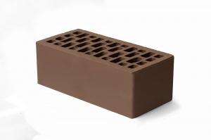 Кирпич облицовочный Braer Светло-коричневый, Гладкий 1,4НФ