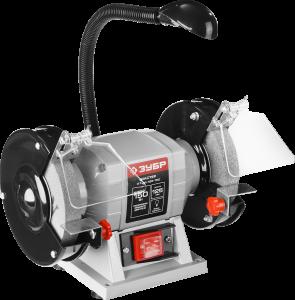 Станок точильный, увеличенная мощность + лампа подсветки ЗТШМ-125-150