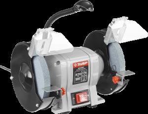 Станок точильный, увеличенная мощность + лампа подсветки ЗТШМ-175-370