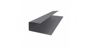 J-профиль металлический 2м ПЭ 0,45мм