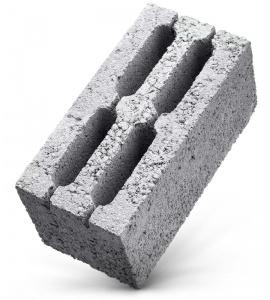 Керамзитобетонный блок 190*390*190
