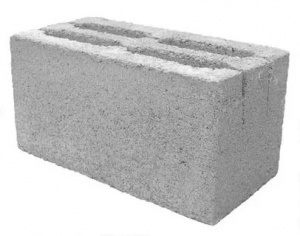 Шлакобетонный блок 190*390*190